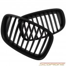 Scopione Matte Black Kidney Grille for BMW 10-17 5 Series GT - F07 Gran Turismo