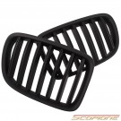 Scopione Matte Black Kidney Grille for BMW 10-13 X1 - E84