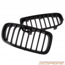 Scopione Glossy Black Kidney Grille for BMW 12-18 3 Series - F30 F31 (Not M3)