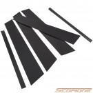 Scopione Carbon Fiber Door Pillars for BMW 10-15 X1 - E84