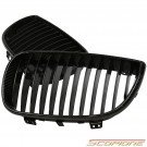 Scopione Carbon Fiber Kidney Grille for BMW 04-07 1 Series - E87