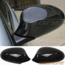 Scopione GLOSSY Carbon Fiber Mirror Covers for 07-10 BMW 3 Series - E92 E93