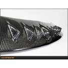 Mitsubishi Lancer Evolution VIII IX: Carbon Fiber Shark Fin Top Roof Spoiler - C
