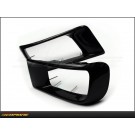 Mitsubishi Lancer Evolution X 08-13: Carbon Fiber Front Bumper Intake Duct Set -