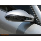 Porsche Cayman 06-12: Side View Mirror Cap Dry Carbon Fiber Cover Set - 987