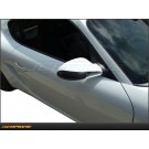Porsche Boxster 05-12: Mirror Side View Cap Dry Carbon Fiber Cover - 987 
