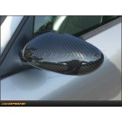 Porsche Boxster 97- 04: Mirror Cap Covers Dry Carbon Fiber Glossy - 986