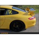 Porsche 911 GT3: Trunk Deck Carbon Fiber Spoiler Replacement - 997