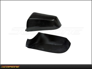 BMW 5 Series 2011-13: Side Mirror Cover Carbon Fiber Set - F10