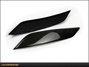 Nissan 350Z 03-06: Headlight Eyelids Eyebrows- Z33