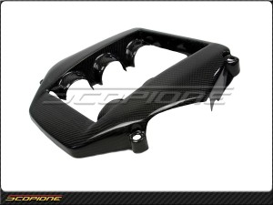Scopione Nissan 09-14 GT-R GTR R35 Black Glossy Carbon Fiber Engine Cover Type-1