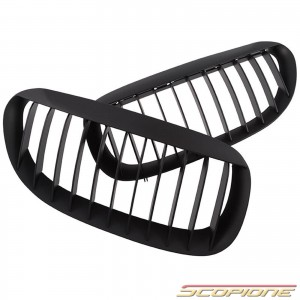 Scopione Matte Black Kidney Grille for BMW 04-10 6 Series - E63 E64 M6