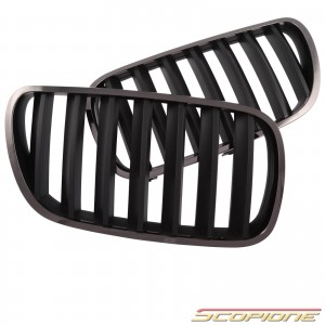 Scopione Black Chrome Kidney Grille for BMW 07-10 X3 - E83