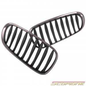 Scopione Black Chrome Kidney Grille for BMW 03-08 Z4 - E85 E86