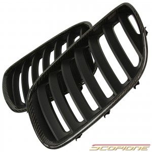 Scopione Carbon Fiber Kidney Grille for BMW 04-06 X5 - E53