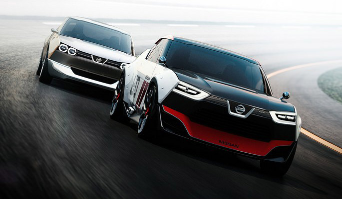 Both Models of the Nissan IDX