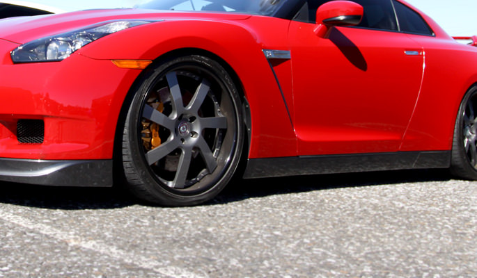 Red, Vehicle, Tires, Wheels, Automotive, Parts