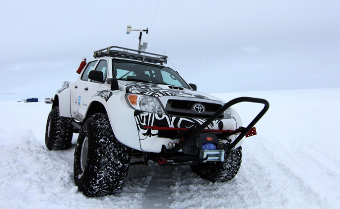 Toyota Hilux world record
