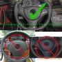 Scopione GLOSSY Carbon Steering Wheel Cover for 10-15 BMW X1 - E84