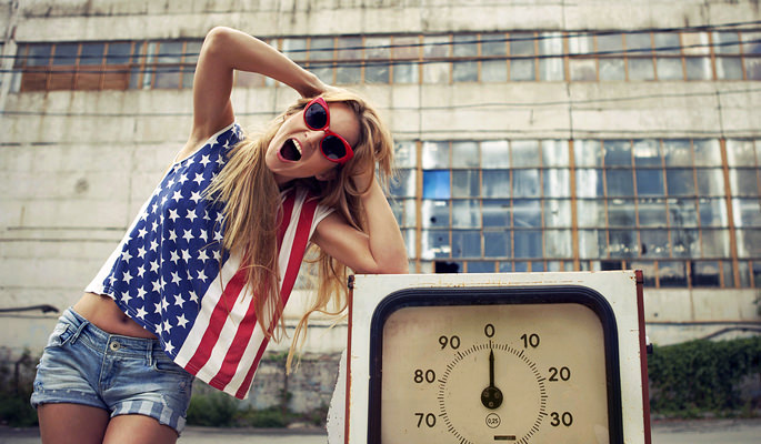 Save, Money, Fuel, Economy, Time, Screaming, Blonde, Girl