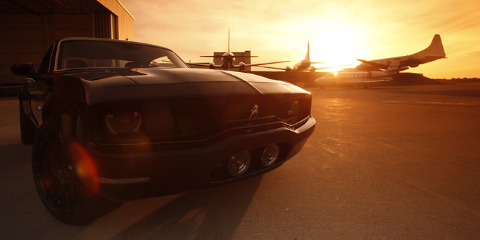 Equus Bass 770 parked in airport